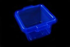голубые коробки Стоковые Изображения