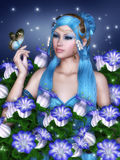 Голубые колоколы бесплатная иллюстрация