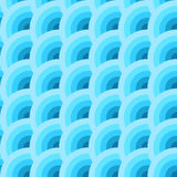 Голубые круги Стоковые Изображения