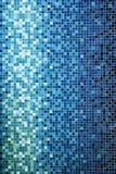 голубые маленькие плитки Стоковое Изображение