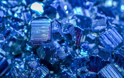 Голубые минералы Стоковое Изображение