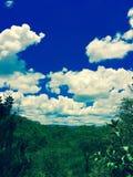 голубые небеса Стоковая Фотография