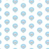 голубые овцы Картина иллюстрация штока