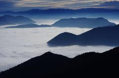 Голубые острова Стоковая Фотография