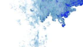 Голубые перегар или чернила Используйте его для предпосылки, перехода или верхних слоев чернила или дым элемента VFX графиков дви иллюстрация вектора