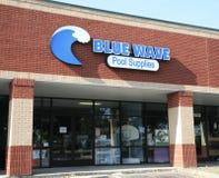 Голубые поставки волнового бассейна Стоковое Изображение RF