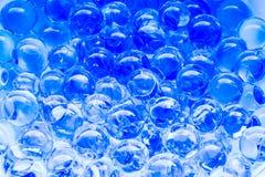 голубые пузыри Стоковая Фотография RF