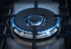 Крупный план горелки Стоковое Изображение RF