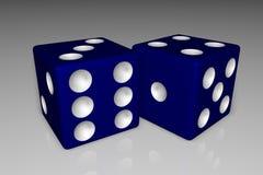 голубые плашки Стоковое Изображение RF