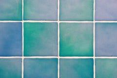 голубые плитки Стоковые Фото