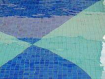 голубые плитки Стоковые Изображения
