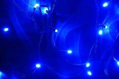 Голубые света водить Стоковая Фотография