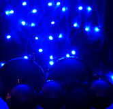 Голубые света водить Стоковое фото RF