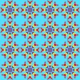Голубые снежинки шнурка бесплатная иллюстрация