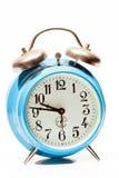 Голубые старые часы Стоковое Изображение RF