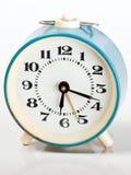 Голубые старые часы Стоковое фото RF