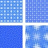 голубые текстуры Стоковое Изображение