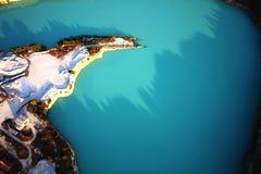 голубые тени Стоковое Изображение