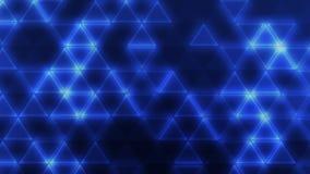 голубые треугольники Стоковое Изображение RF