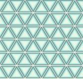 голубые треугольники Стоковая Фотография