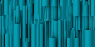 Голубые трубки в вертикальном составе стоковые фотографии rf