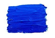 Голубые ходы изолированной кисти Стоковое Изображение RF