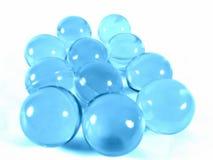 Голубые шарики Стоковое Изображение RF