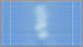 Голубые шторки Стоковое фото RF