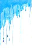голубые штриховатости Стоковая Фотография RF