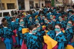 Голубые bullfighters Стоковая Фотография
