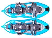 Голубые Snowshoes Стоковое фото RF