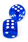 2 голубых плашки Стоковое Изображение RF