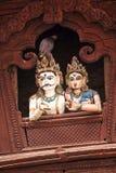 Голубь и Shiva & Parbati Стоковые Изображения RF