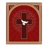 Голубь духа Святого Стоковое фото RF