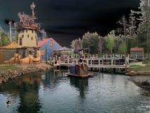 Гольф бухты пиратов мини Стоковые Изображения