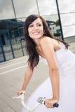 Гольф свадьбы стоковая фотография