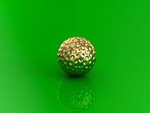 гольф шарика ударяя движение утюга стоковое фото