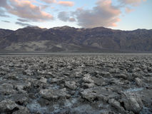 Гольф дьявола на Неваде, Калифорнии, США Стоковые Изображения RF