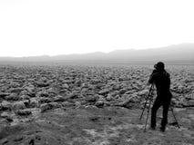 Гольф дьявола на Неваде, Калифорнии, США Стоковая Фотография