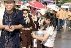 год 2008 Таиланда празднества новый songkraan Стоковые Фотографии RF
