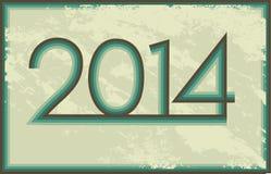 Год 2014 Стоковая Фотография RF