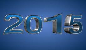 Год 2015 иллюстрация штока