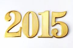 Год 2015 Стоковое Изображение RF