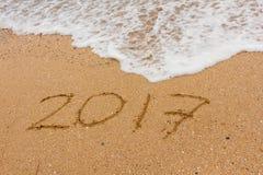 Год 2017 Стоковое фото RF