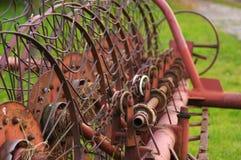 Грабл для сена Стоковое фото RF
