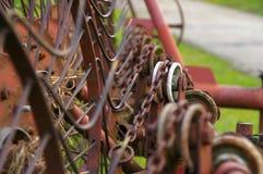 Грабл для сена Стоковые Фотографии RF
