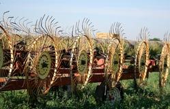 Грабл сена стоковая фотография rf