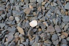 Гравий базальта Стоковое Фото