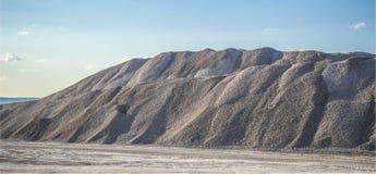 Гравий горы стоковое изображение rf