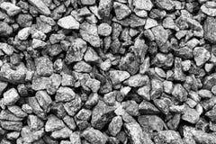 Гравий, задавленный камень Текстура конструкционного материала щебня стоковая фотография